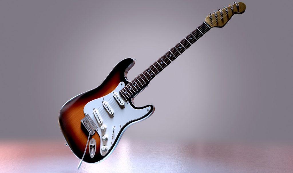 Physiquement, les guitares électriques sont plus faciles à jouer
