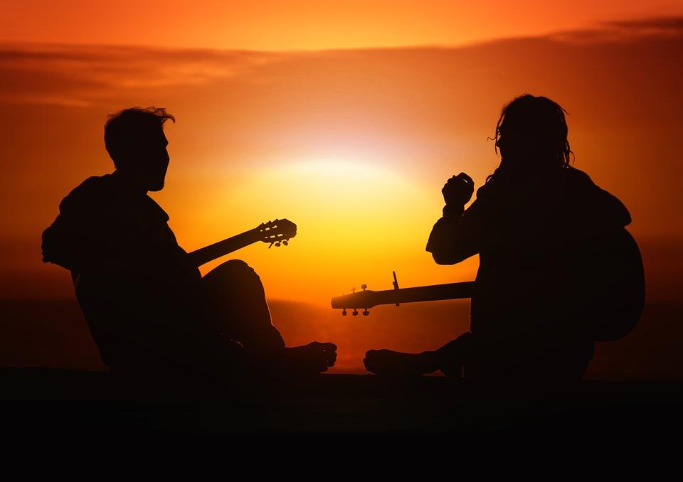 la pratique de la guitare est parfaite